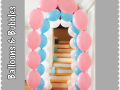 Link O Loon Pastel Balloon Arch