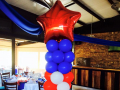 American Theme Balloon Column - Pillar