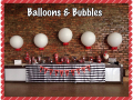 Giant Balloons for Wedding Candy Table Decor
