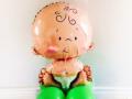 Baby Shower Baby & Dummy Balloon