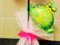 Balloon Flower & Frog Centrepiece