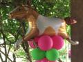 Horse/Pony Balloons Pillar