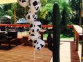 Western theme - Cow print  balloons