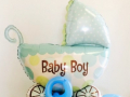 Baby Boy Balloon Decor - Baby Shower