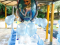 Frozen Party Balloon decor