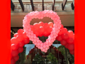 Heart Balloon Arch Frame