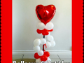Heart Balloon Topiary
