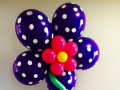 Gallery Flower Bouquet Polka Dot