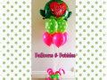 Frog Kiss Me balloon bouquet