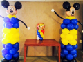 Mickey Mouse Balloon pillars