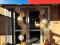 Shoe City Gold Balloons