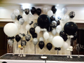 Gallery Wedding balloon backdrop