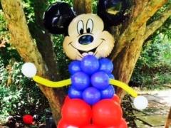 Mickey Mouse Balloons Pillar