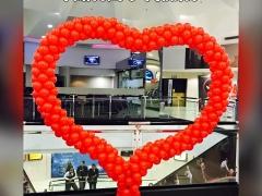 Balloon Heart Photo Frame