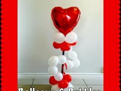 Heart Balloon Topiary