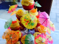 Hawaaiin Party Cupcakes