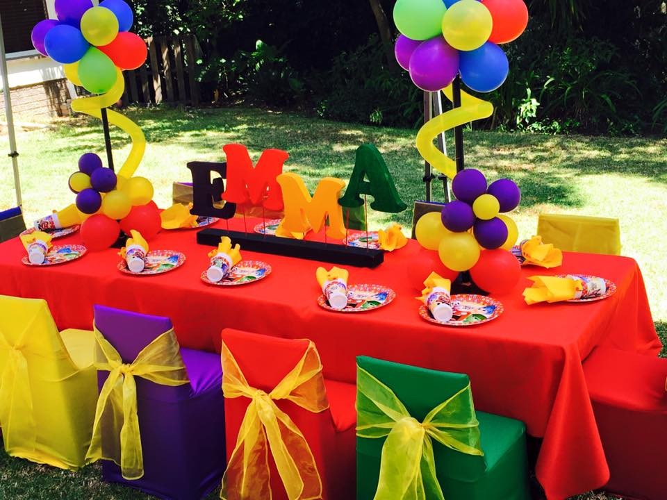 Themed kids parties balloon decor in somerset west for Balloon decoration for kids