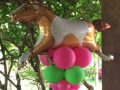 Horse/Pony balloon Pillar