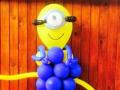 Minion Balloon Centrepiece