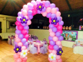 Princess Sophia Balloon Arch