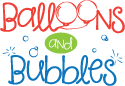 Balloons and Bubbles Logo